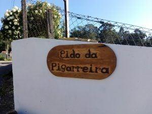 Acerca do furancho. Cartel da entrada, no furancho da Pigarreira, Redondela Pontevedra
